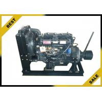 China 4 . 33 L Stationary Diesel Engine With Clutch ,  48 KW  Industrial Diesel Engines 2000 Rpm for sale