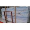 Azul Macaubas Blue Colour Marble Tile for sale