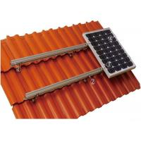 Buy cheap 60m / S Wind Load Tile Solar Panel Roof Mounting Systems Aluminum Alloy / from wholesalers