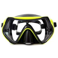 Buy cheap Dry Snorkel Anti-Fog Anti-Leak Design Diving Mask Reef Explorer Swimming Goggles from wholesalers