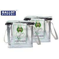 Wholesale Envelope Bag PVC Sealed Plastic Ballot Box , Locking Ballot Box SGS Certification from china suppliers