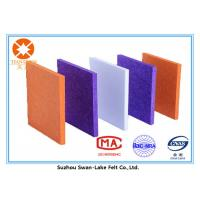 Wholesale Sound-Absorbing Polyester Fiber Acoustic Panel Needle Punched Felt from china suppliers