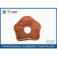 Quality Premium Deluxe Memory Foam Office Sleep Pillow , Nap Pillow For Pressure Relief for sale