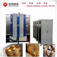 Wholesale Magnetron Sputtering Thin Film Coating Machine Strong Adhesion For Gold Jewelry from china suppliers