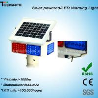 Wholesale Traffic LED Solar Powered Blinking Warning Light from china suppliers