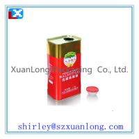 Quality Olive oil tin box for sale