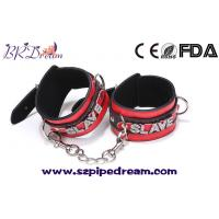 Wholesale Leather With diamond harness bondage hand ankle cuffs fetish slave shackles games for adults from china suppliers