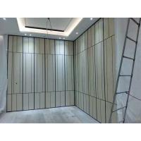 China 4m Height Aluminium Track Sliding Partition Walls / Movable  Room Dividers on sale