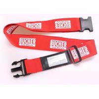 Wholesale Multi Colors Personalised Luggage Straps With Quick - Release Buckle from china suppliers