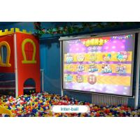 Wholesale Interactive floor game projector interactive projection wall children game machine from china suppliers