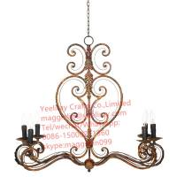 Buy cheap YL-L1023 Industrial Vintage Iron Hanging Lamp/Pendent Lighting in Black Sliver from wholesalers