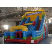 Wholesale Rock Climbing Inflatable Slide ,  Double Slide Way Dry Slide in Stock from china suppliers