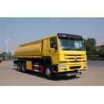 China Aluminum Alloy Oil Tank Trailer / Tri Axle Trailer 11500*2420*3800mm for sale