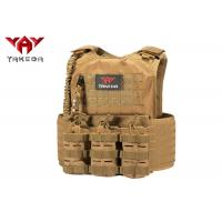 Quality Laser Cutting Army Military Tactical Vest , Swat Combat Training Ballistic for sale