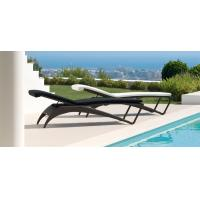Wholesale hotel garden sun lounger rattan chaise lounge from china suppliers