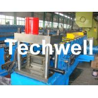 Wholesale 12 Forming Stations PLC Control System U Shape Roll Forming Machine for Steel U Purlin from china suppliers