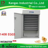 China Best price High quality 1408 eggs Commercial Automatic Duck Quail Egg Incubator for Poultry Egg Hatchery KP-13 on sale