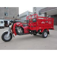 Adult Three Wheel Cargo Motorcycle Higher Cargo Box Big Loading Capacity for sale