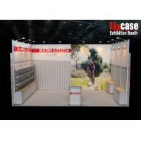 Buy cheap Durable and Customizable Aluminum Frame Exhibition 10x20 Trade Show Booth from wholesalers