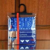 Buy cheap Garment  Laminated Zip Plastic Poly Bag with Hanger Custom Printed from Wholesalers