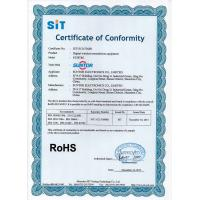 SUNTOR ELECTRONICS CO.,LIMITED Certifications