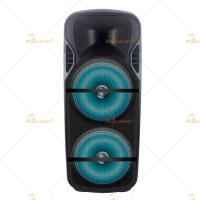 Plastic Bluetooth Portable PA Speakers 12 Inch Remote Control