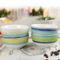 Buy cheap Ceramic Tableware Strip Set Soup Bowl Mug Noodle Plate Food Contact Safe from wholesalers