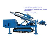 Wholesale Φ150~Φ250 Hydraulic Impact  80~100 m   Top Drive Anchor Drilling Rig from china suppliers