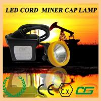 Wholesale 15000lux Waterproof LED Mining Light ATEX Portable , 6.5Ah Miners Helmet from china suppliers