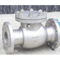 China Nozzle Check Valve for Pipeline Valve with Stainless Steel Material on sale