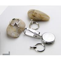 Exquisite heavy duty metal key holder keychain for business gift set, premium quality, 45g for sale