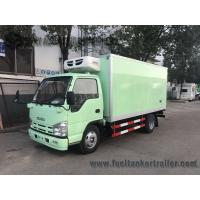 Wholesale ISUZU 15ft 1-4 Ton 6 Wheel Refrigerated Delivery Truck For Meat And Fish from china suppliers