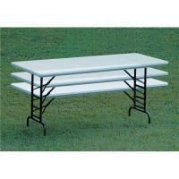 Wholesale 6FT Height Adjustable Folding Table from china suppliers