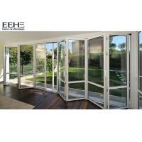 Wholesale External White Aluminium Bifold Doors / Double Glazed Aluminium Folding Patio Doors from china suppliers