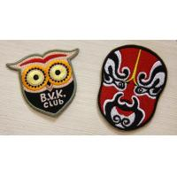 Wholesale Colorful Custom Embroidered Patches backed Glue For Union Form from china suppliers
