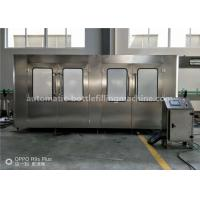 Wholesale 330ml Milk Juice Beverage Glass Bottle Rinsing Sterilizing Hot Filling Capping Machine from china suppliers