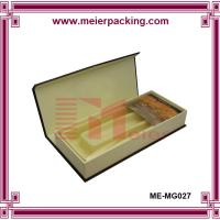 Quality China directly factory woman belt box, paper box men belt with blister plastic ME-MG025 for sale