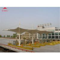 Wholesale Large Tensile Membrane Structures 1050gsm PVC Roof Flame Retardant DIN 4102 B1 from china suppliers