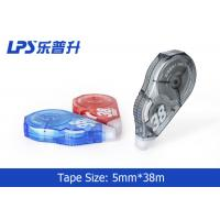 Quality Student Colorful Non-refillable Correction Tape 38m High Quality White Out Correction Tape Factory for sale