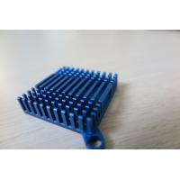 Wholesale Blue Anodized Cold Forge CNC Machining Aluminium Heat Sink Profiles for Cooling System from china suppliers