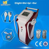Wholesale SHR E - Light IPL Beauty Equipment 10MHZ RF Frequency For Face Lifting from china suppliers