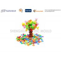 Wholesale DIY Custom Plastic Toys Snowflakes Puzzle Toy Enlighten Child Plastic Toy Bricks Building Blocks Souptoys from china suppliers