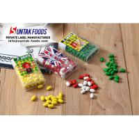 Buy cheap Full Color Print Sticker Kiwi Sugar Coated Candy With Green Color Dot Sweets Confectionery Box from wholesalers