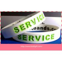 Most popular  silicone bracelets custom silicone arm band for sale