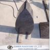 Melon Seeds Shape Granite Headstone, Beautiful Style Granite Tombstone for sale