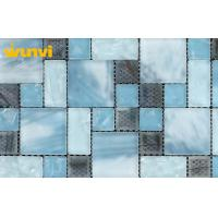 Wholesale Walling Decorative Light Blue Mosaic Bathroom Tiles With Art Design from china suppliers