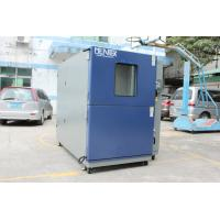 China Hot Cold Thermal Shock Environmental Test Chamber Basket Transmission Two Zone for sale