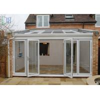 Quality Customized Aluminium Frame Greenhouse Patio Enclosure Designs For Garden for sale