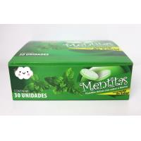 Wholesale 8g Strong Mint Flavor Compressed Candy  packed in Plastic Round Box from china suppliers