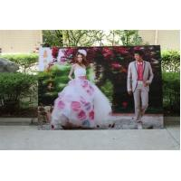 Wholesale 2021 new year wholesale 3d lenticular printing wedding photos with depth 3d moving effects by UV flabed printer from china suppliers